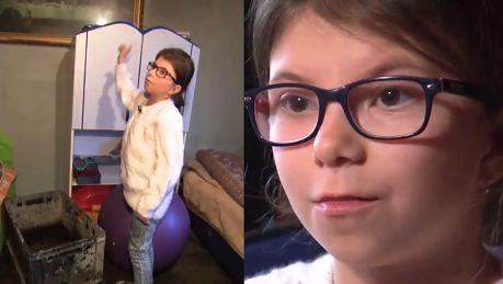 13 latka apeluje w TVN ie o dom Nie wiem jak pomóc chorej na raka mamie Mieszkamy w środku lasu