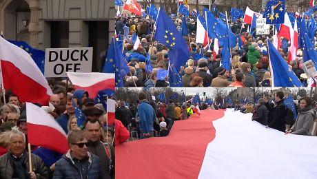 Marsz dla Europy przeszedł przez Warszawę UE jest tym co nas wszystkich łączy