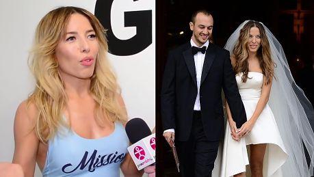 Chodakowska wspomina ślub Nie marzyłam o białej sukni Obrączki dostaliśmy od Asi