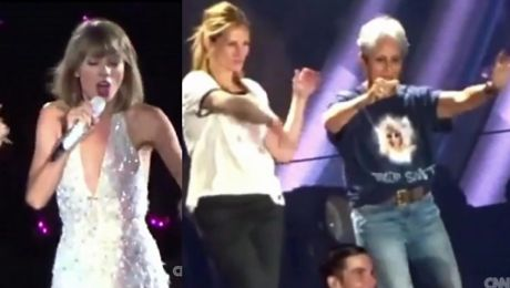 Taylor Swift zaprosiła na scenę Julię Roberts