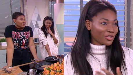 Osi Ugonoh gotuje z siostrą w Dzień Dobry TVN