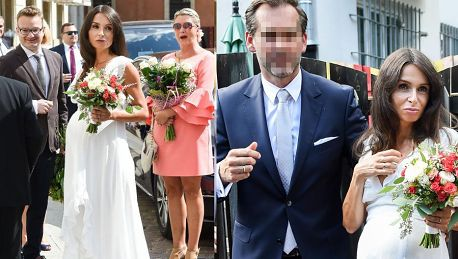 38 letnia Kaczyńska na ostatnich nogach bierze ślub cywilny