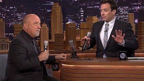 Billy Joel i Jimmy Fallon śpiewają In the jungle