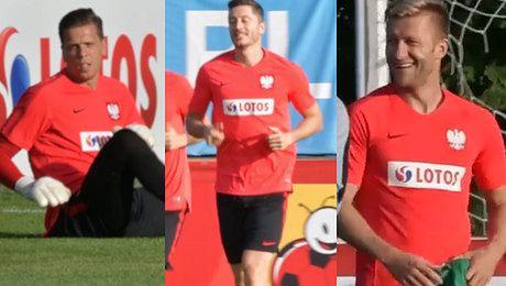 Odświeżona polska reprezentacja trenuje przed meczem z Włochami WIDEO