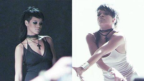 Rihanna nagrywa nowy teledysk