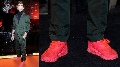 Musiał w różowych butach W STYLU BIEBERA
