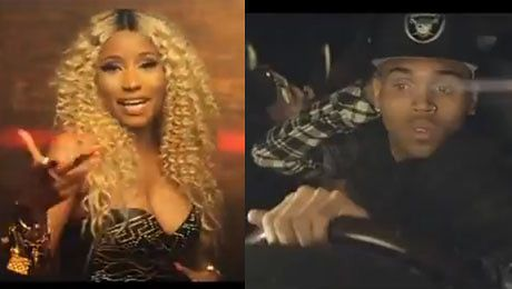 KLIP Chrisa Browna i Nicki Minaj