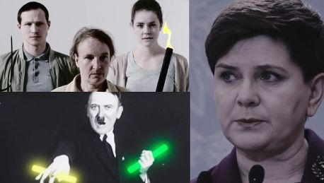 Beata Szydło współczesną nazistką w klipie niemieckiej telewizji