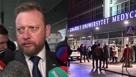 Minister Zdrowia o śmierci Adamowicza Nie udało się wygrać z tym co go dotknęło