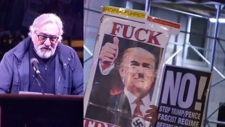 De Niro znowu krytykuje Trumpa On mówi że nasz kraj jest wysypiskiem śmieci Serio