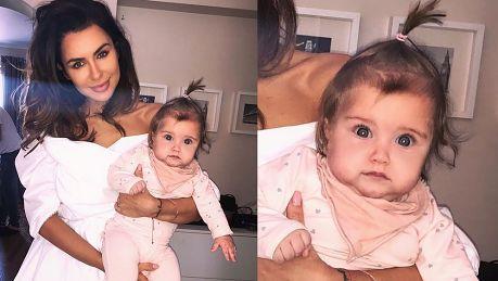 Siwiec retuszuje twarz córki Wygląda dziwnie Jest rozmyta i nienaturalnie gładka