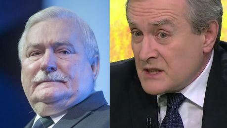 Gliński do Wałęsy Niech pan stanie w prawdzie Polacy panu wybaczą