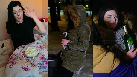 Poznajcie Agnieszkę z Projektu Lady … Jestem leniwą dupą Lubię leżeć i jeść