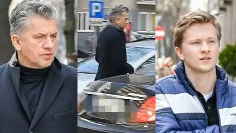 Józefowicz czmycha spod studia DDTVN Mercedesem za 200 tysięcy WIDEO