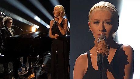 Christina Aguilera śpiewa nowy singiel