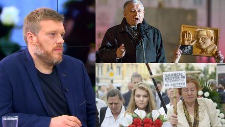 Miesięcznica smoleńska to impreza religijna Zandberg Byłaby to czarna msza nienawiści