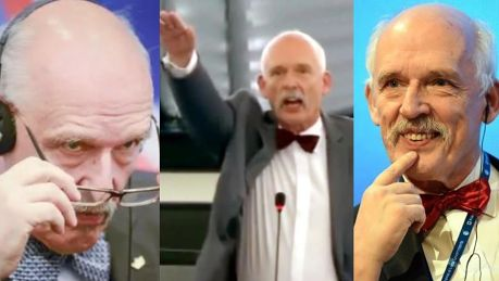 Korwin Mikke odchodzi z europarlamentu Zobaczcie jego NAJLEPSZE MOMENTY Unia musi zostać zniszczona