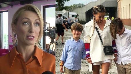 Kalczyńska wspiera Rozenek Mama w pracy versus plan zajęć dzieci to cały czas niewygrana walka