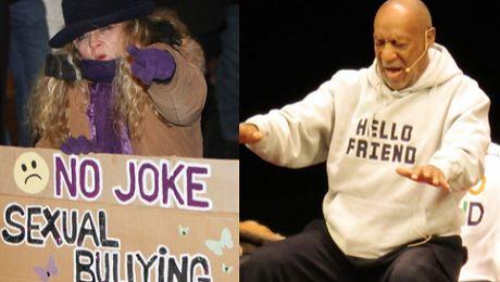 Cosby wygwizdany na scenie WIERZYMY KOBIETOM Gwałt to nie żart
