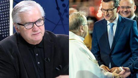 Morawiecki zastąpi Kaczyńskiego Cimoszewicz Niestety tak kontynuując tą samą filozofię władzy