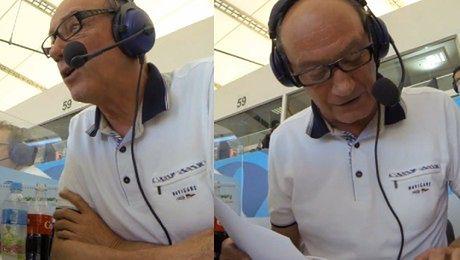 Dariusz Szpakowski komentuje finał Mundialu