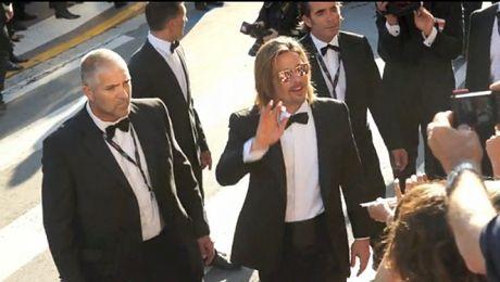 Samotny Brad w Cannes