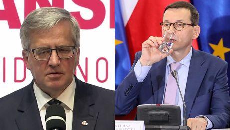 Bronisław Komorowski ostro o rządzie PiS na obchodach 4 czerwca Nie mogę tego pojąć