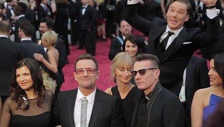 Benedict Cumberbatch zepsuł sesję zdjęciową U2
