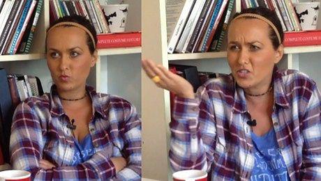 Sara May przerywa wywiad CYCKI BYM POKAZYWAŁA I CIPKĘ