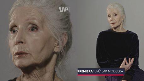 82 letnia Helena Norowicz Kiedy jest się młodym duchem zmarszczki są mniej widoczne