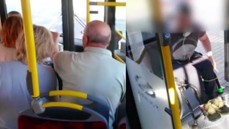 Kierowca nie wpuścił niepełnosprawnego do autobusu w Warszawie To nie jest mój obowiązek