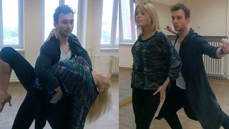 Spięta Joanna Opozda na treningu do Tańca z gwiazdami