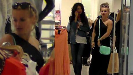 Doda na zakupach Noszą jej siatki