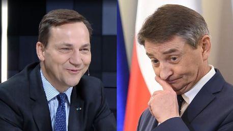 Sikorski o Kuchcińskim Zachowuje się jak funkcjonariusz partyjny
