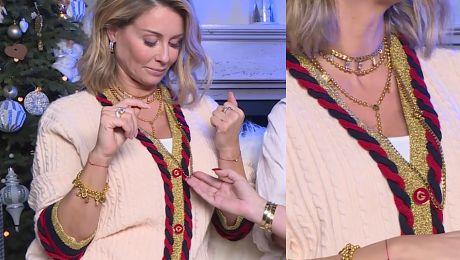 Rozenek cała w złocie rozprawia o biżuterii Motywy zwierzęce są bardzo modne w tym sezonie