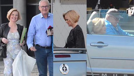 Zamachowska wsiada do Mustanga kolegi Już jej nie stać na taksówki