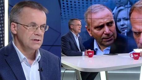 Jarosław Sellin To Donald Tusk dzieli nie Jarosław Kaczyński
