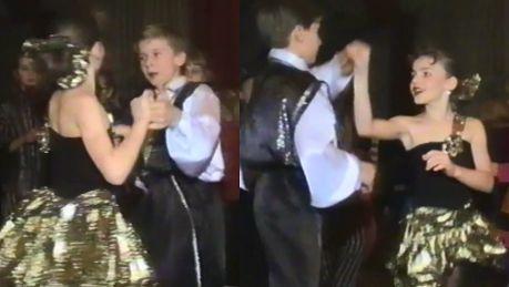 11 letnia Herbuś w tańcu z…Tomkiem Barańskim Byłam po raz pierwszy zakochana nie tylko w tańcu
