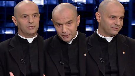 Ksiądz robi coming out na antenie TVN24 Jestem heteroseksualny