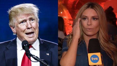 Rozenek o prezydencie Trumpie Najgorzej Myślałam że to się nie dzieje naprawdę