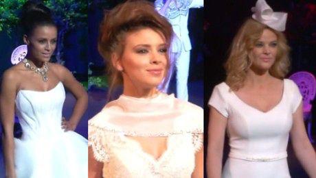 Celebrytki w sukniach ślubnych