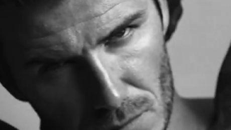 Nagi wytatuowany Beckham w reklamie