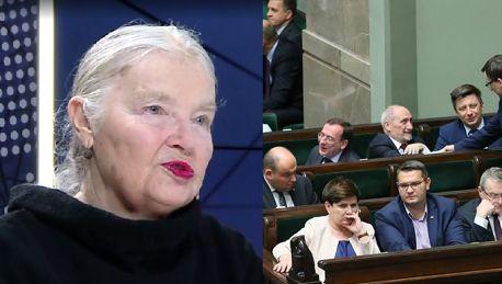 Staniszkis o wyborach parlamentarnych Mam nadzieję że PiS przegra