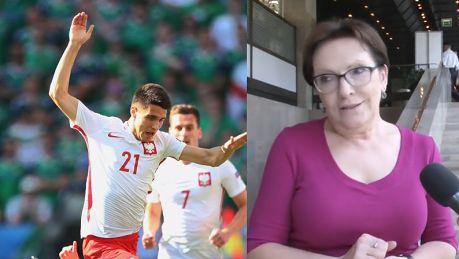 Ewa Kopacz o Kapustce Jestem jego fanką