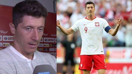 Mundial 2018 Lewandowski o wygranej z Litwą Nieraz trudniej strzelić gola na treningu