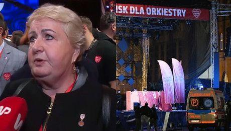 Henryka Krzywonos komentuje tragedię w Gdańsku Mieszkamy od niedawna w niebezpiecznym państwie