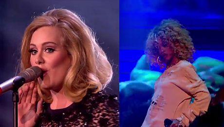 Występy Adele i Rihanny na Brit Awards