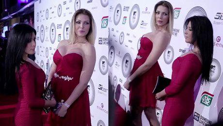 Gwiazdy z Warsaw Shore pozują na imprezie MTV