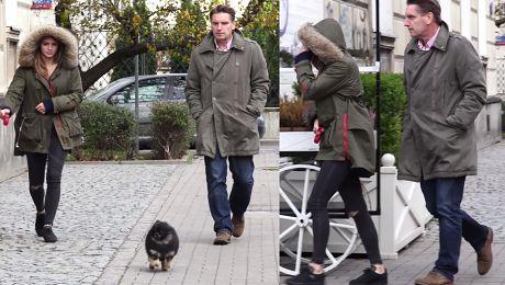 Trzy Lisy na spacerze Tomek Pola i szczęśliwy Czarek…