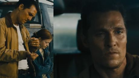 Matthew McConaughey i Anne Hathaway w JEDNYM FILMIE